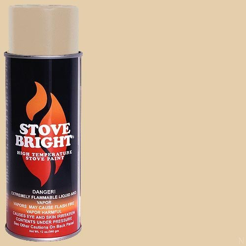 (Stove Bright High Temp Paint - Almond)