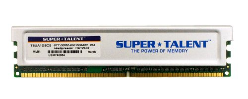 Super Talent DDR2-800 1GB/128x8 S-Rigid Memory T8UA1G8C5 ()
