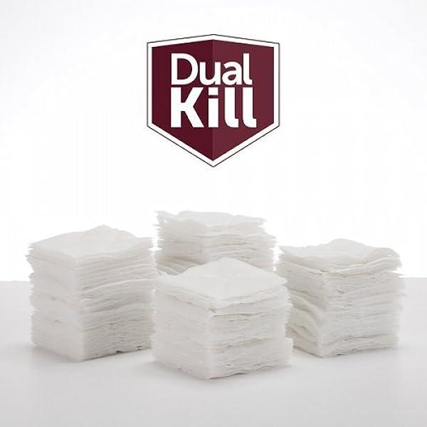 Amazon Com Dual Kill Bedbug Dryer Strips 50 Bed Bug Dryer Sheets Health Personal Care