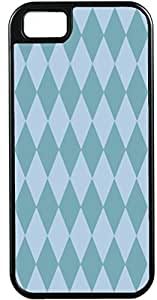 Case For Iphone 6 Plus (5.5 Inch) Cover Customized Gifts Cover Diamond Pattern Design Violet-Blue and Light BlIdeal Gift