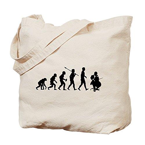 CafePress reproductor de–Violonchelo–Gamuza de bolsa de lona bolsa, bolsa de la compra