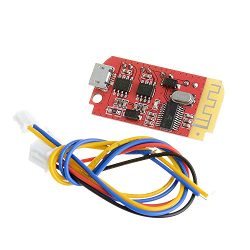 Anmbest DC 3.7V 5V F Class 5W+5W Digital Audio Amplifier Board Double Dual Plate DIY Bluetooth Speaker Modification Sound Music Module with Micro USB