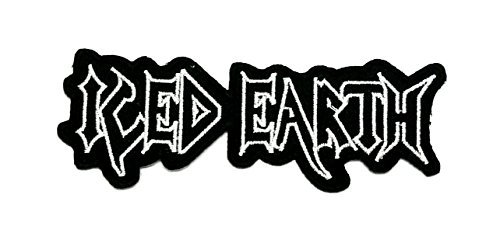 (Aruno maison Iced Earth 3 Rock Band Punk DIY Iron Sew On Embroidered Patch for Denim Jacket Vest Cap)