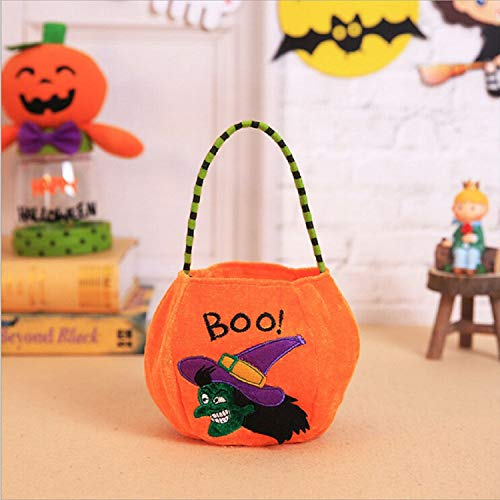 JEWH Cute Cartoon Halloween Child Kids Handle Bag