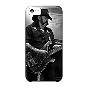 Iphone 5c ZJo1630sSdQ Support Personal Customs Colorful Motorhead Band Image Shockproof Hard Cell-phone Case -LauraAdamicska