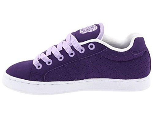 Osiris Troma Redux Skate Shoes Purple / White Trainers - Skateboard Sneakers