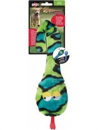 Ethical 5729 Skinneeez Plus – Snake Stuffing-Less Dog Toy, 15-Inch