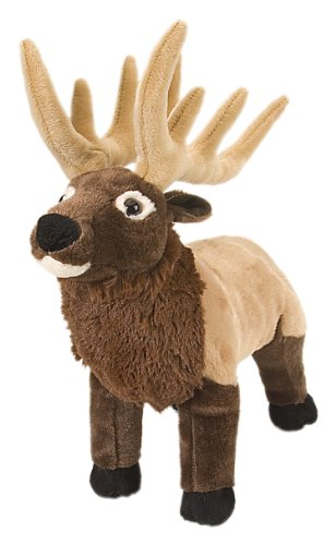 Wild Republic Elk Plush, Stuffed Animal, Plush Toy, Gifts for Kids, Cuddlekins 12 Inches