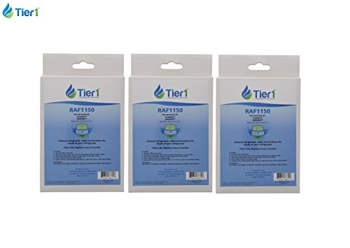 Tier1 PAULTRA Frigidare Pure Air EAFCBF Electrolux Replacement Refrigerator Air Filter 3 Pack