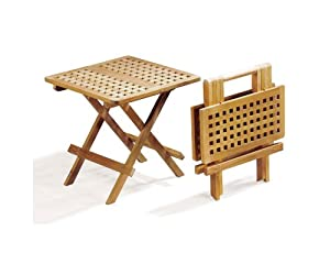 Folding Picnic Table - A-Grade Teak Folding Garden Coffee ...