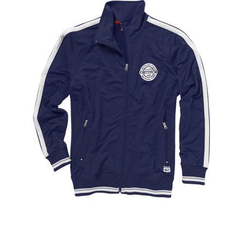 Azul Asics Jacket Small 333140 Retro 0828 Track Hombre Azul Chaqueta Onitsuka Tiger nbsp;Art rvngvU