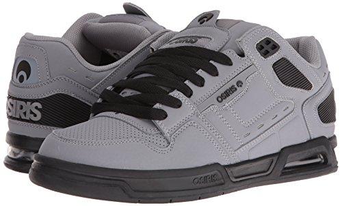 Osiris Péril Gris/Noir/Noir Chaussures