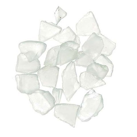 Darice Bulk Buy DIY Crafts Sea Glass in Mesh Bag Frosted White 1 lb (3-Pack) 1140-61]()