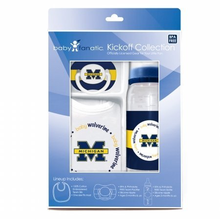 Baby Fanatic Gift Set,University of Michigan (Michigan Set)