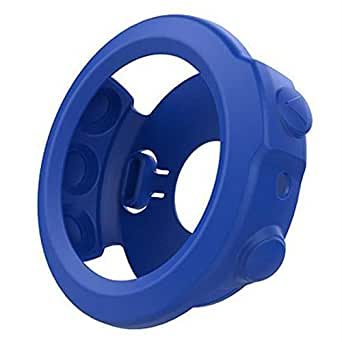 For Garmin Fenix 5X - Coverking Silicone Protective Case Cover For Smart Watch - Blue
