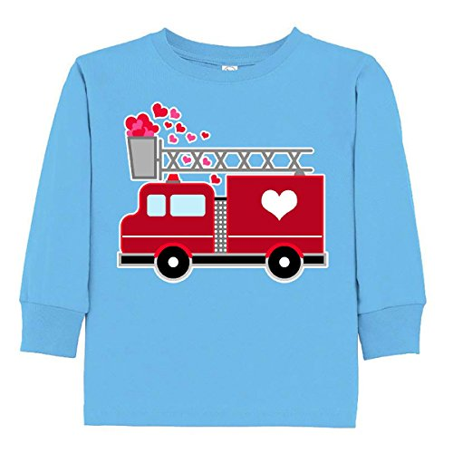 inktastic - Valentine's Day Red Toddler Long Sleeve