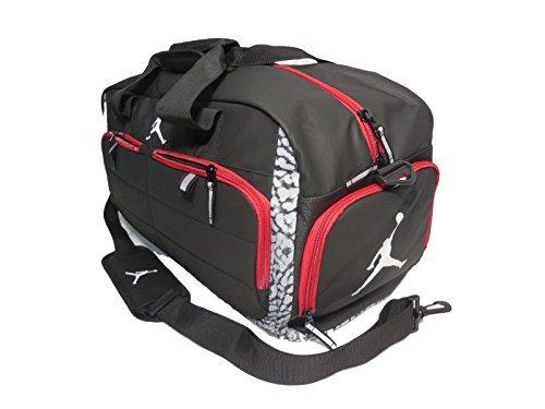 Nike AIR JORDAN JUMPMAN All World Sport Duffel Bag - Wolf Grey (9A1639-176 5b9696d3d50fd