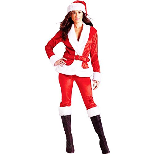Fun World Costumes Ms Santa Costume