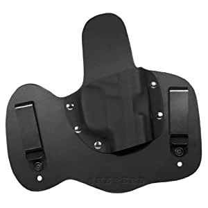 Conceal Max- Right Handed, Black, Sig P250 Subcompact Round TG - Shepherd Leather IWB Holster