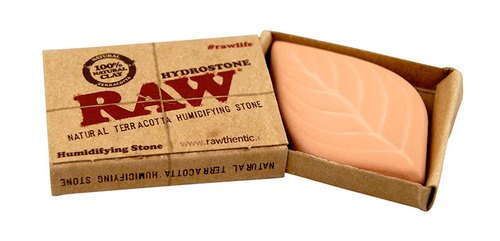 Raw Hydrostone Natural Terracotta Humidifying Stone For Tobacco 1 Pack