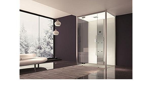 Hoesch baño senseperience Vapor 140 x 100 cm ducha de vapor con ducha bañera esquina izquierda: Amazon.es: Bricolaje y herramientas