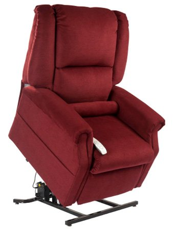 Mega Motion Windemere NM-101 Infinite Position Chaise Lounger Chair (Dove) by Windemere