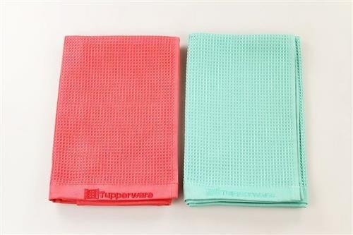 Panno in microfibra TUPPERWARE FaserPro 31060 colore rosso//turchese