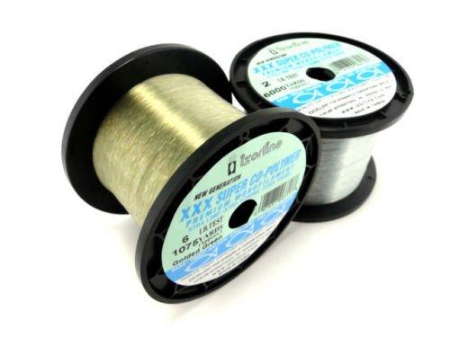 Izorline Xxxコポリマーモノフィラメント釣りライン1 / 4 lbバルクスプール(煙、4 lb 3350 Yards ) B01MQCPT70