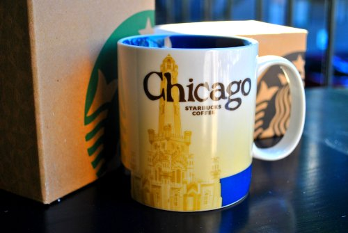 Starbucks Coffee 2011 Chicago Mug, 16 fl oz