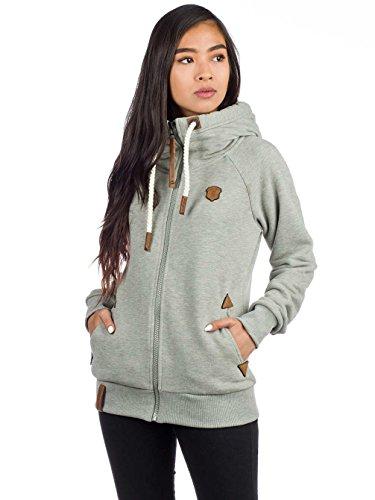 Grey Engel Zipped Blonder Smoke Jacket Xl Gun Naketano Melange Female f10qwx16