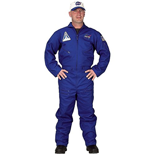 Flight Suit Costume Accessory - Large - Chest (Adult Nasa Flight Suit)