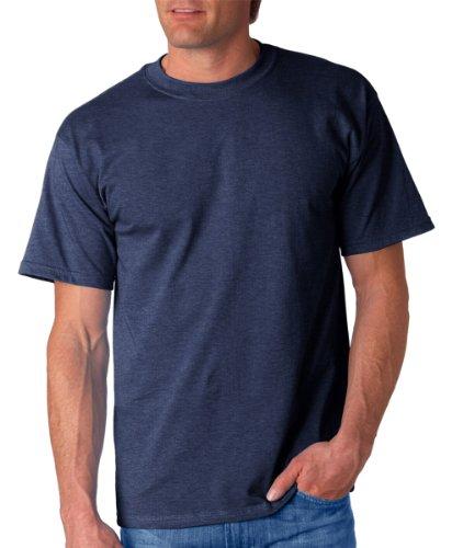 Gildan Mens Ultra Cotton 100% Cotton T-Shirt, 3XL, Heathered Navy (Sale Vintage T-shirt)