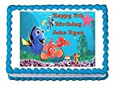FINDING NEMO party decoration edible cake image cake topper frosting sheet