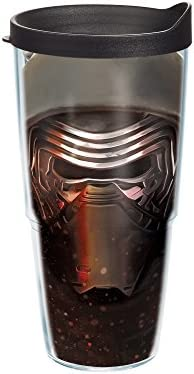 06b2b867db3 Amazon.com: Tervis Star Wars Force Awakens Kylo Ren Mask Tumbler with Travel  Lid, 24 oz, Clear: Kitchen & Dining
