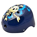 MCH-MOON Cycling Black Skull ABS/EPS Adult 11 Vents Multi-purpose Helmet(Size L)
