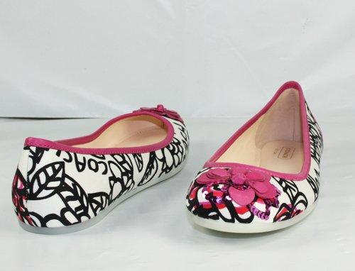 : Coach Adessa Poppy Floral Graffiti Flats Shoes