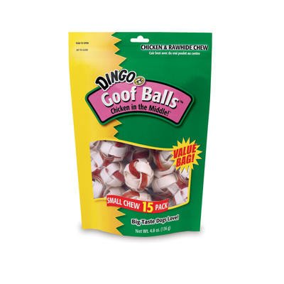 (Dingo Goof Balls Small Value Bag 4.5oz 15pk)