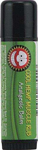 Merry Hempsters Cool Hemp Muscle Rub, 0.6 Ounce