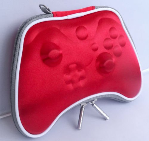 Xbox One RED Airform Pouch Pouch Case Bag For Xbox 1 Controller Gamepad+ Wrist Strap Soleil