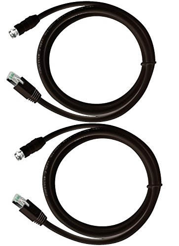 RG-6 Coax Cable over UTP Cat5e/6 Extender Balun Converter Adapter, sender & receiver by SPECIALTY-AV