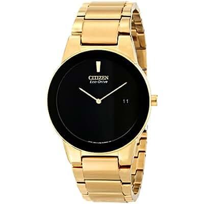 Citizen Eco-Drive Men's AU1062-56E Axiom Gold-Tone Watch
