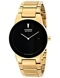 Citizen Men's AU1062-56E Axiom Analog Display Japanese Quartz Gold Watch
