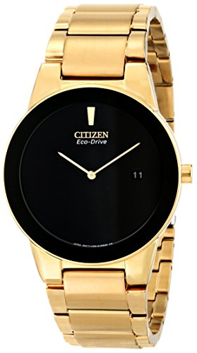 Citizen Eco-Drive Men's AU1062-56E Axiom Gold-Tone Watch