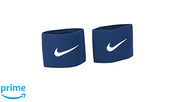 Amazon.com : Nike Mens Guard Stay Ii Football Shinguard Holder One Size Navy Blue/Silver : Sports & Outdoors