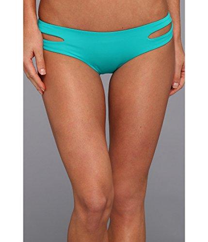 - LSpace Women's LSolids Tab Side Hipster Bikini Bottom (Classic) Peacock XS