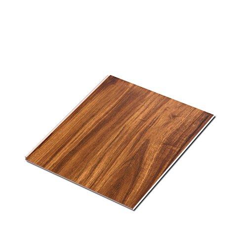 Acacia Floors - Cali Bamboo - Cali Vinyl Pro Commercial Vinyl Flooring, Extra Wide, Acacia Wood Grain - Sample Size 6