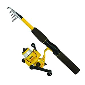 Eagle Claw PK56TS Pack-It Spin Combo Telescopic Rod (1 Piece)