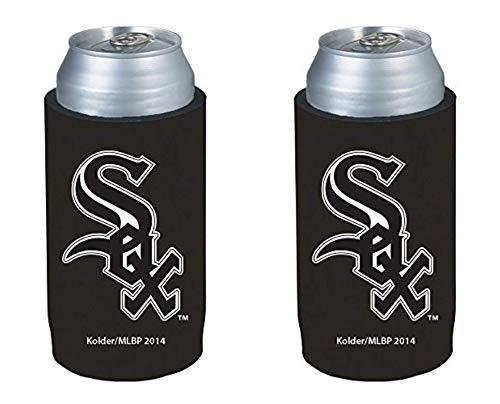 (MLB 2014 Baseball Ultra Slim Beer Can Holder Koozie 2-Pack - Pick Your Team (Chicago White Sox))