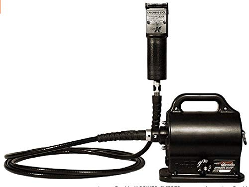 Black Double K #401 Equine and Large Animal Portable Clipper - 12 Foot Cable ()