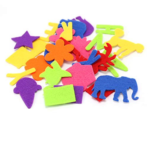 Creatology Kid's Felt Shapes & Stickers with Mega Bucket, 320 Pieces ()